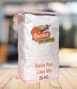 Cake Mix Swiss Roll