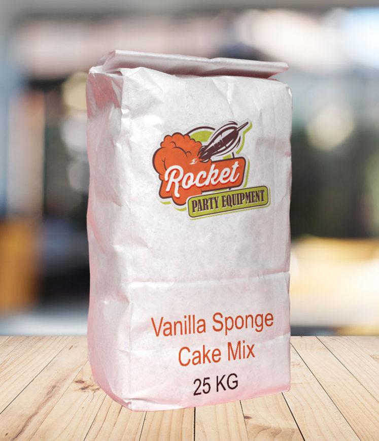 Cake Mix Vanilla Sponge