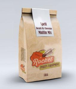 Chocolate Spelt Muffin Mix