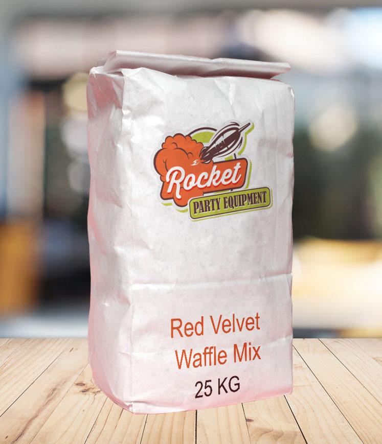 Waffle Mix Red Velvet
