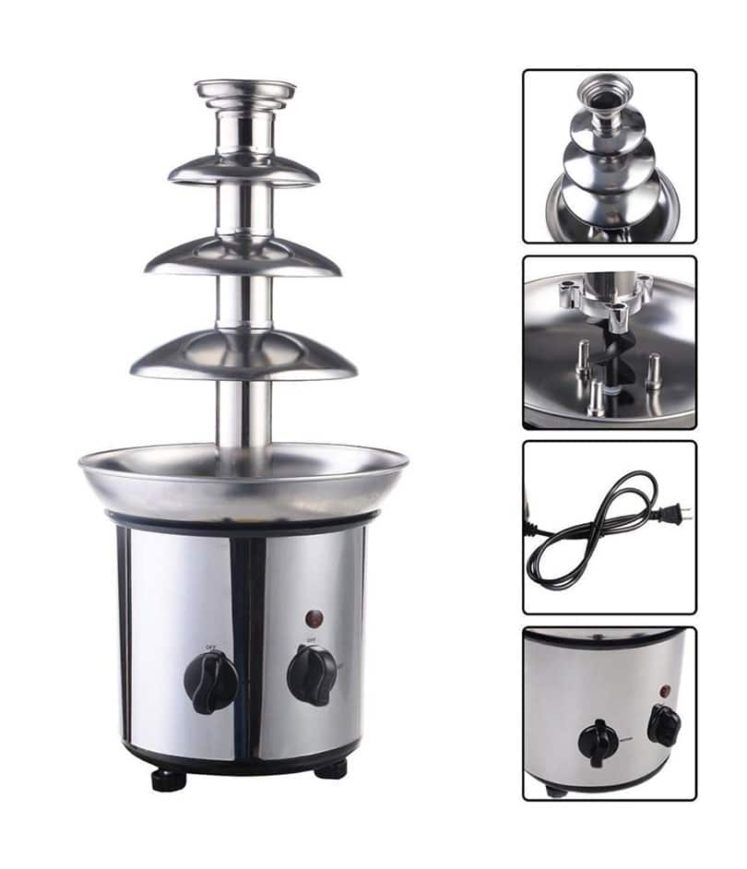 4 Tier Chocolate Fountain For Sale