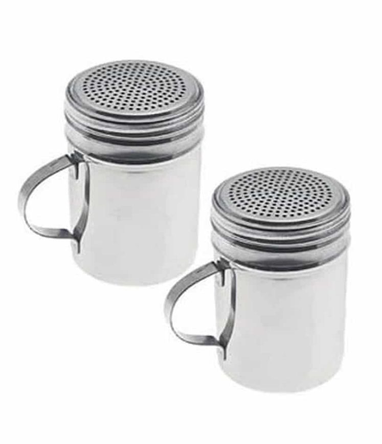Popcorn Spice Shaker Stainless Steel